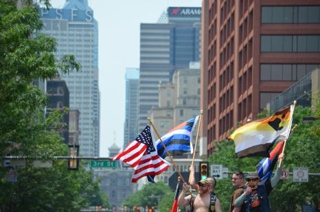So adorable. BEARS = Yes Philadelphia Pride Parade 2013