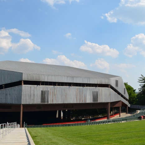 The Mann Center: View from the Lawn