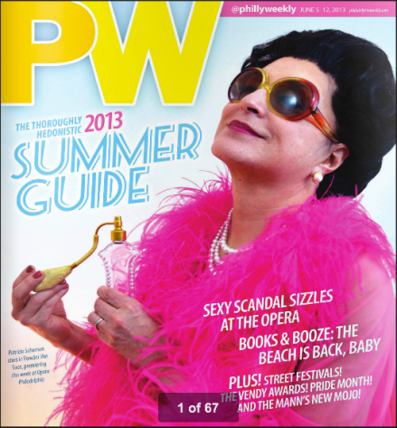 Philadelphia Weekly Summer Guide Cover  Photo by J.R. Blackwell