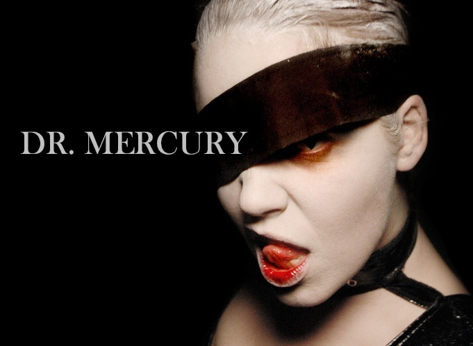Dr. Mercury is an immortal, alien supervillian who will one day consume the earth. Her power levels remain unconfirmed as no hero has truly been able to test their limits.  She enjoys long walks on blackened beaches, sipping the blood of heroes and throwing rocks at dolphins. She is often seen kidnapping your girlfriend. Or you. She likes you.