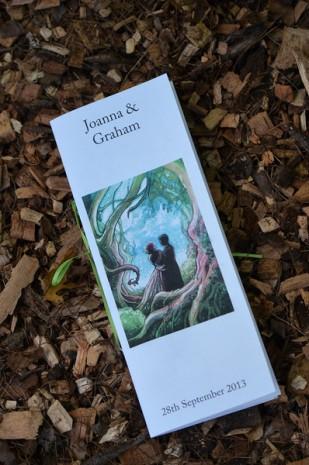 Joanna and Graham Art by Jennifer Rodgers