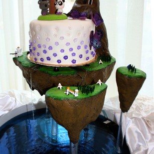 This photo is by my assistant, Avalon. Seriously, look at this amazing cake,