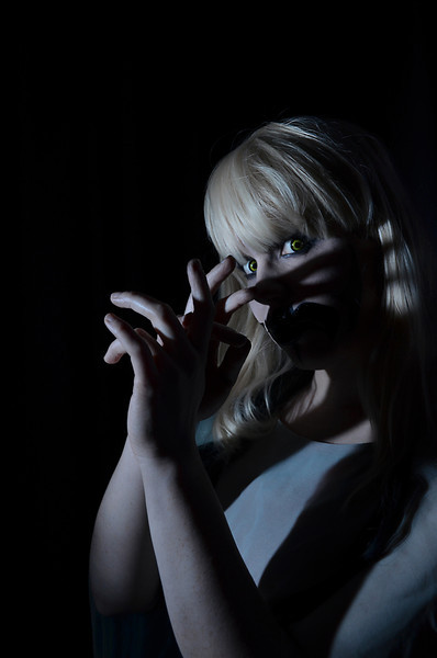 J.R. Blackwell, Horror, Ghost, Self Portrait, Photographer, East Coast, Blond, Woman, Gothic, Shadows